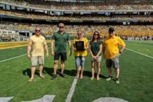 children's advocacy center at the baylor game